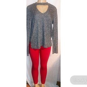 F&f brand red leggings